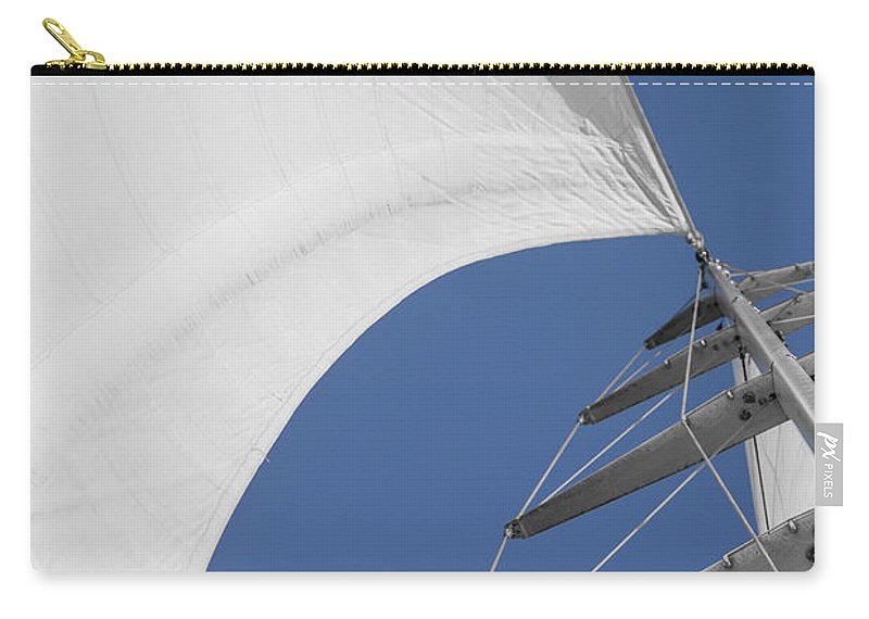 Sails Carry-all Pouch featuring the photograph Obsession Sails 10 by Scott Campbell