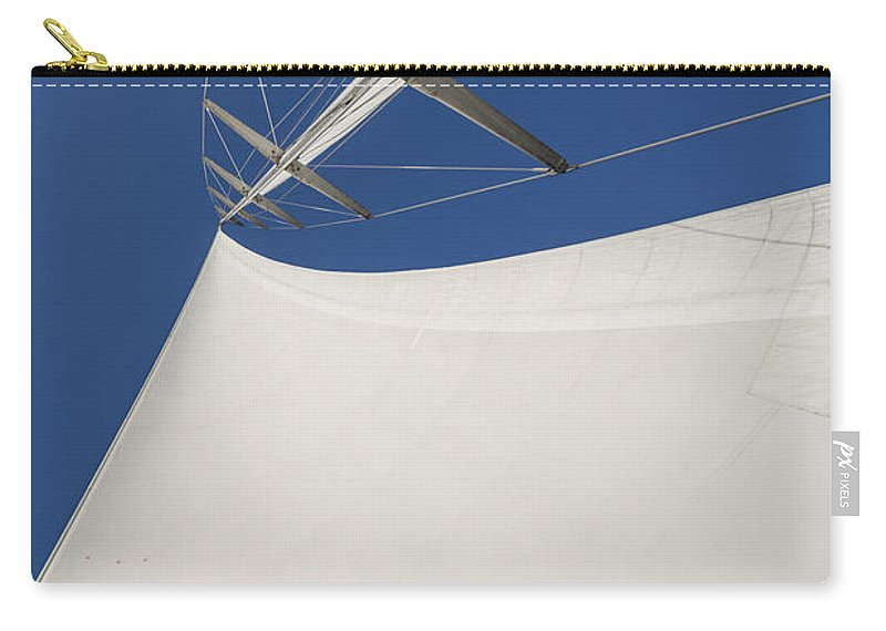 Sails Carry-all Pouch featuring the photograph Obsession Sails 4 by Scott Campbell