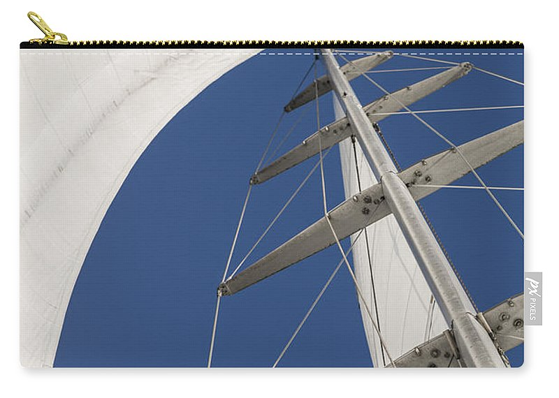 Sails Carry-all Pouch featuring the photograph Obsession Sails 5 by Scott Campbell