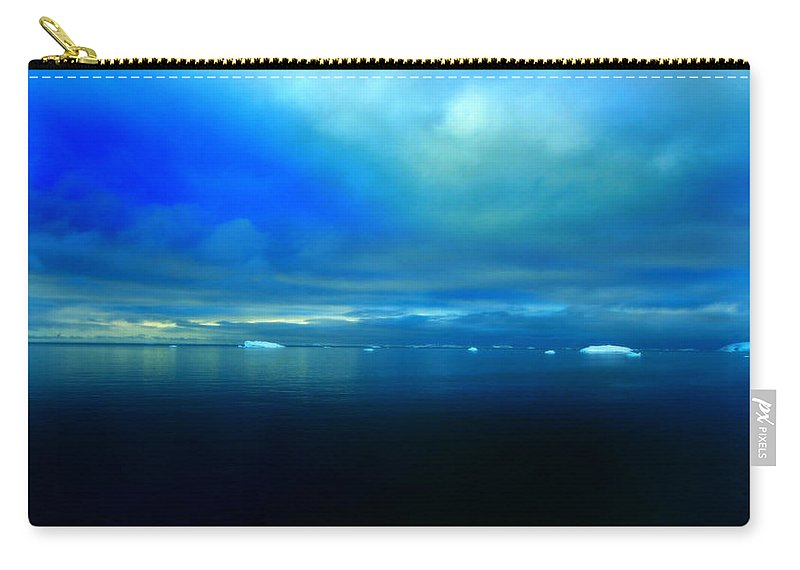 Iceberg Carry-all Pouch featuring the photograph Ocean Calm by Amanda Stadther