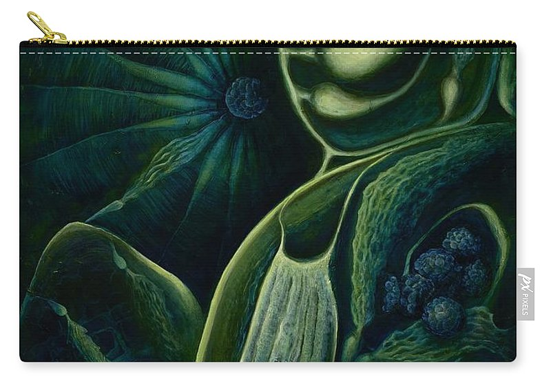 Ocean Carry-all Pouch featuring the painting Ocean Mother by Lyn Pacificar