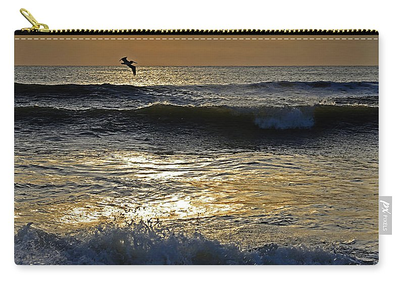 Ocracoke Island Carry-all Pouch featuring the photograph Ocracoke Morning by Eric Albright