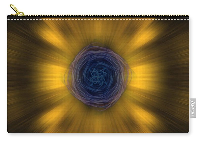 Angel Carry-all Pouch featuring the digital art Odbum by Raymel Garcia