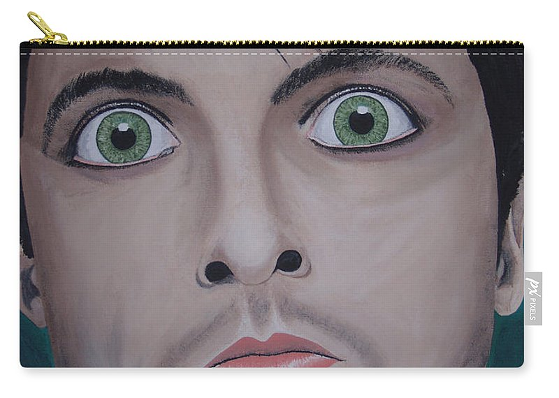 Rockumentory Carry-all Pouch featuring the painting Ode To Billie Joe by Dean Stephens