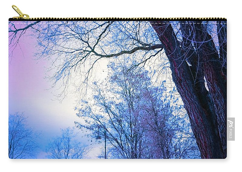Tree Carry-all Pouch featuring the photograph Of Dreams And Winter by Tara Turner