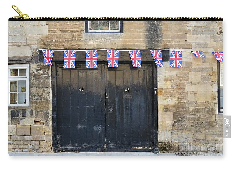Door Carry-all Pouch featuring the photograph Of The British by Stephanie Guinn