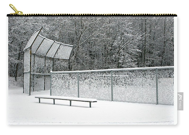 Winter Carry-all Pouch featuring the photograph Off Season by Ann Horn