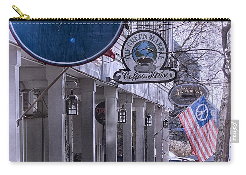 Mystic Carry-all Pouch featuring the photograph Off Season by Joe Geraci