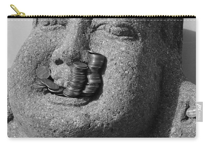 Buddha Carry-all Pouch featuring the photograph Offering by Meganne Peck