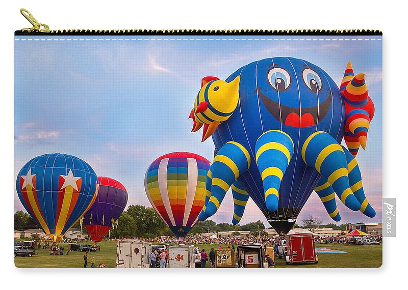 Bill Pevlor Carry-all Pouch featuring the photograph Oh Happy Day by Bill Pevlor