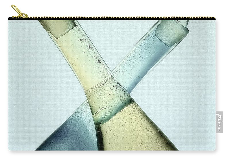Abstract Carry-all Pouch featuring the photograph Oil And Vinegar Abstract by Susie Peek