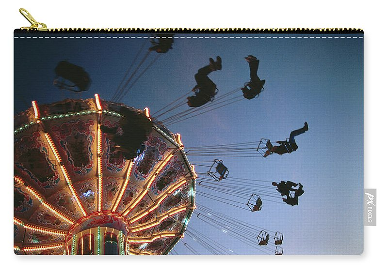Event Carry-all Pouch featuring the photograph Oktoberfest Style Event In September by Thomas Winz