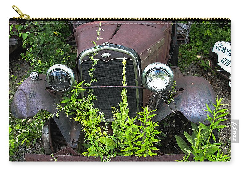 Antique Carry-all Pouch featuring the photograph Old And Rusty by Sherman Perry