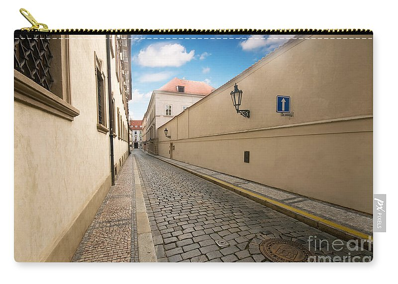 Old Carry-all Pouch featuring the photograph Old Architecture In Prague by Michal Bednarek