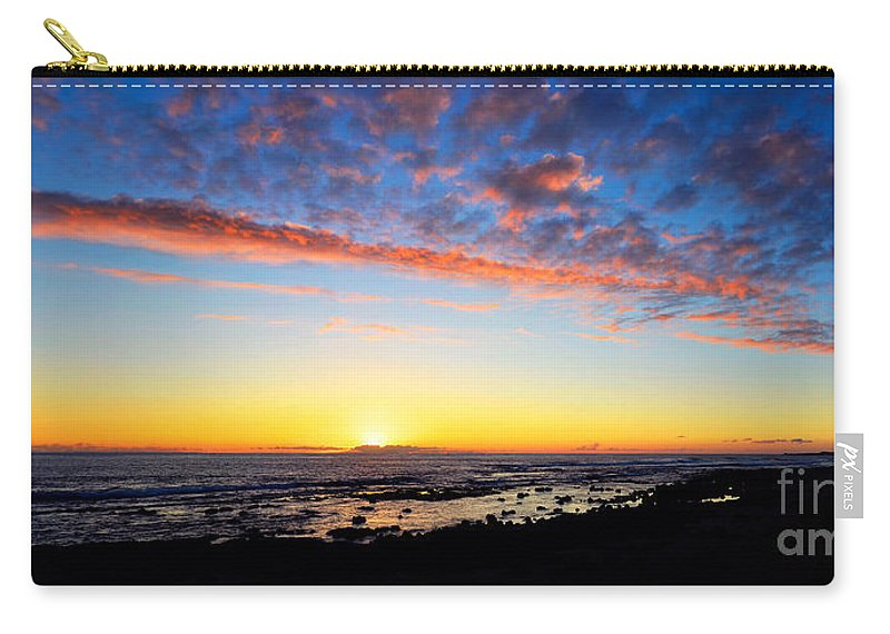 David Lawson Carry-all Pouch featuring the photograph Old A's Panorama by David Lawson