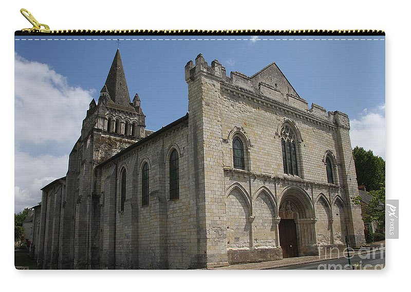 Church Carry-all Pouch featuring the photograph Old Church - Loire - France by Christiane Schulze Art And Photography