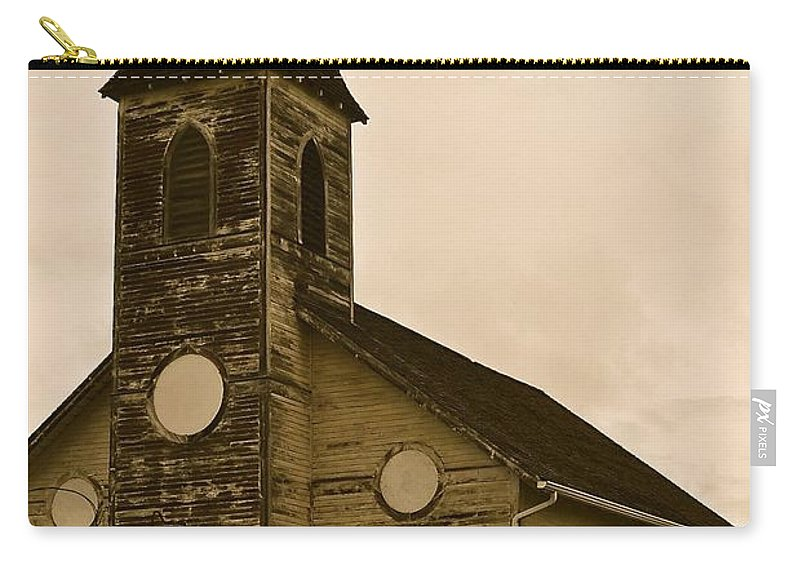 Church Carry-all Pouch featuring the photograph Old Church by Stephanie Bland