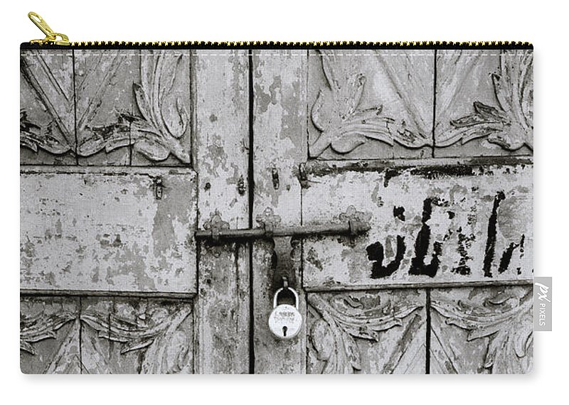 Mattancherry Carry-all Pouch featuring the photograph Old Door by Shaun Higson