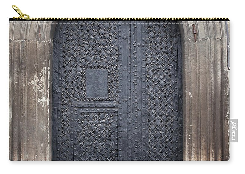 Gothic Style Carry-all Pouch featuring the photograph Old Door by Viktor gladkov