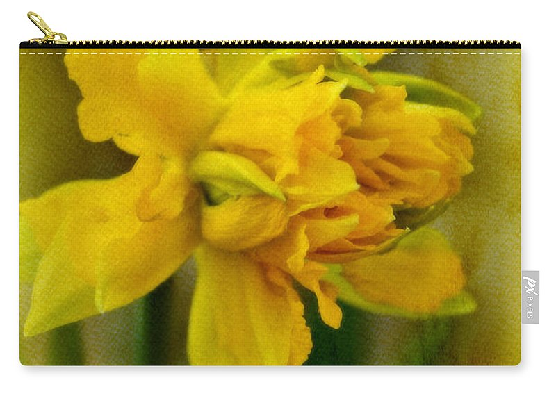 Daffodil Carry-all Pouch featuring the photograph Old Fashioned Daffodil by Mother Nature