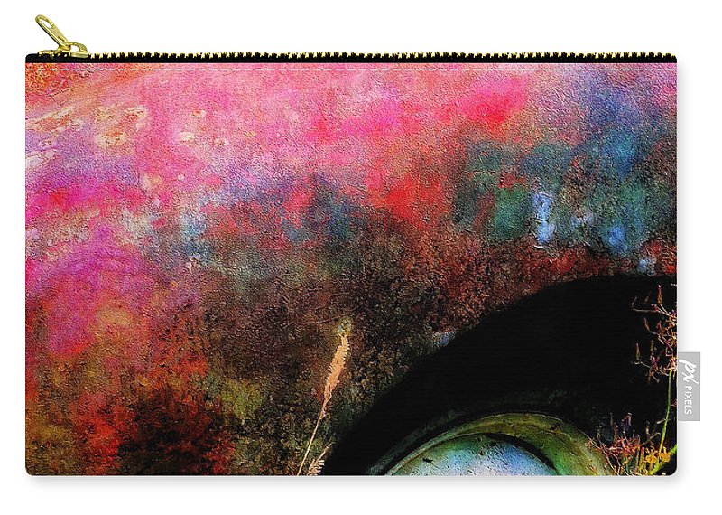 Old Carry-all Pouch featuring the painting Old Ford #3 by Sandy MacGowan