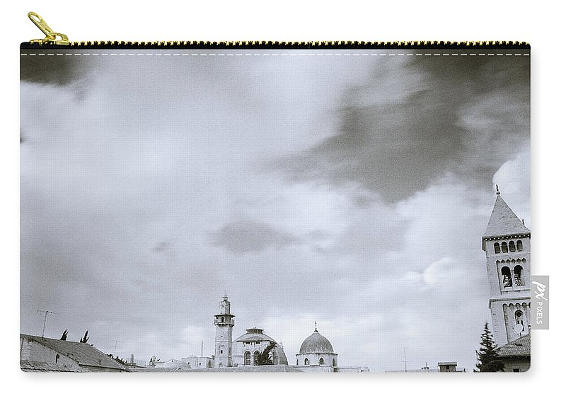 Sky Carry-all Pouch featuring the photograph Old Jerusalem by Shaun Higson
