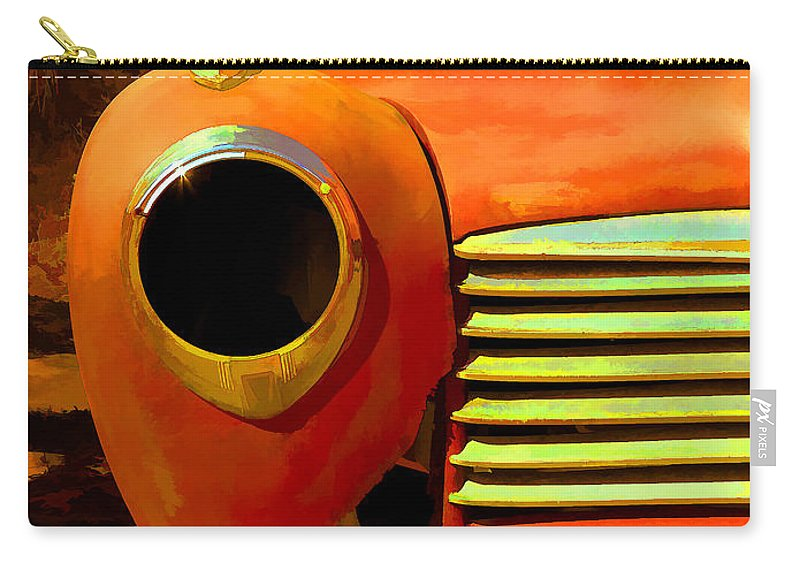Car Carry-all Pouch featuring the painting Old Junker by Edward Fielding