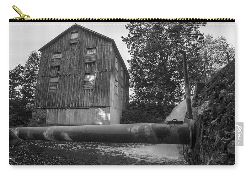 Mill Carry-all Pouch featuring the photograph Old Mill by Richard Kitchen