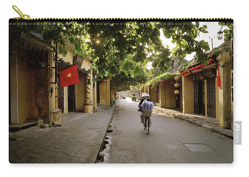 Hoi An Carry-all Pouch featuring the photograph Old Quarter Of Hoi An by Shaun Higson