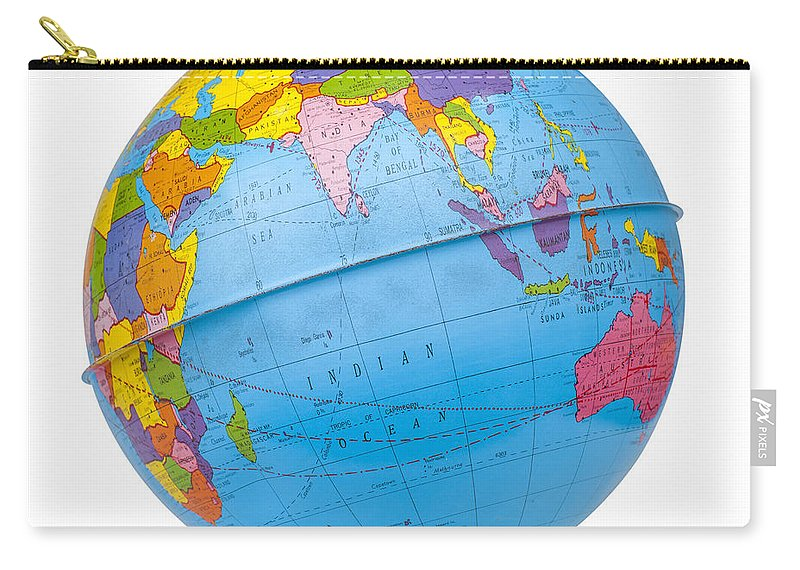Old rotating world map globe carry all pouch for sale by donald erickson globe carry all pouch featuring the photograph old rotating world map globe by donald erickson gumiabroncs Image collections