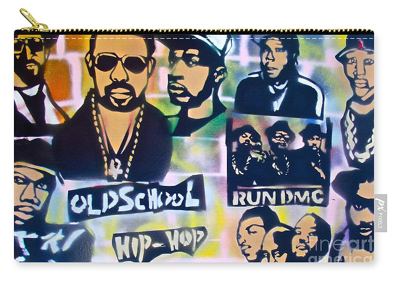 Old School Hip Hop 2 Carry All Pouch