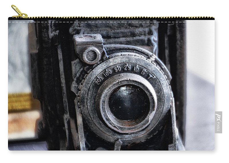 Old Carry-all Pouch featuring the photograph Old School Photography by Bill Cannon