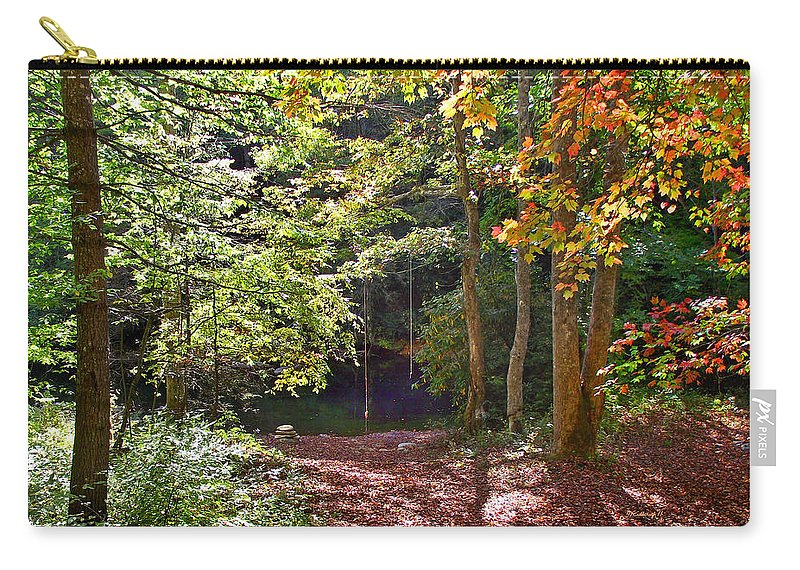 Plants Carry-all Pouch featuring the photograph Old Swimming Hole by Duane McCullough