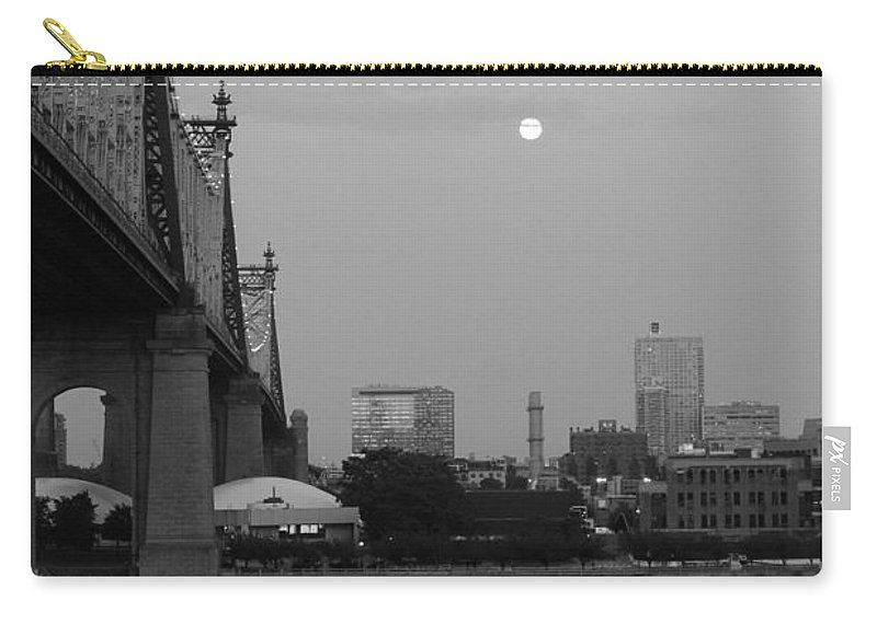 Queensboro Bridge Carry-all Pouch featuring the photograph Old Times by Catie Canetti