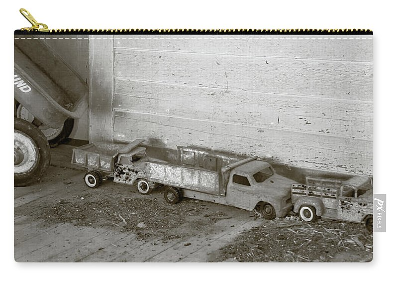Guy Whiteley Photography Carry-all Pouch featuring the photograph Old Toys I by Guy Whiteley