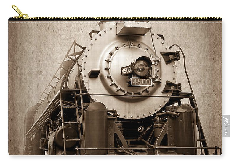 Afternoon Carry-all Pouch featuring the photograph Old Trains by Doug Long