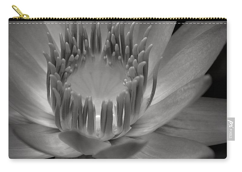 Aloha Carry-all Pouch featuring the photograph Om Mani Padme Hum Hail To The Jewel In The Lotus by Sharon Mau