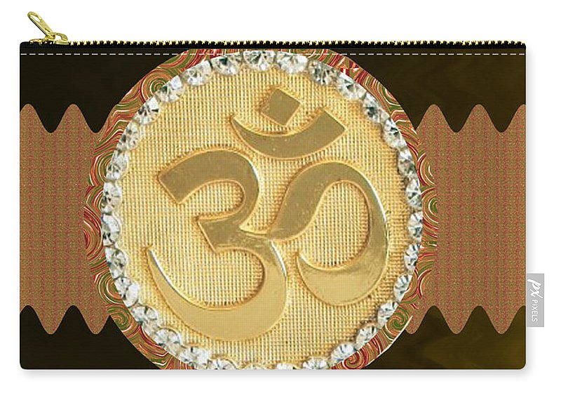 Om Mantra Ommantra Hinduism Symbol Sound Chant Religion Religious Genesis  Temple Veda Gita Tantra Ya Carry-all Pouch