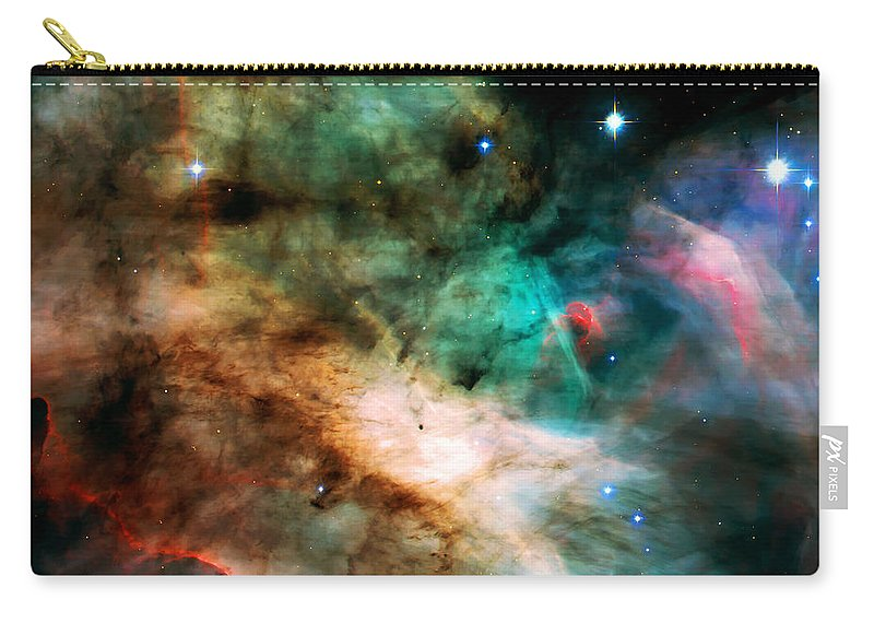 Nebula Carry-all Pouch featuring the photograph Omega Swan Nebula 2 by Jennifer Rondinelli Reilly - Fine Art Photography