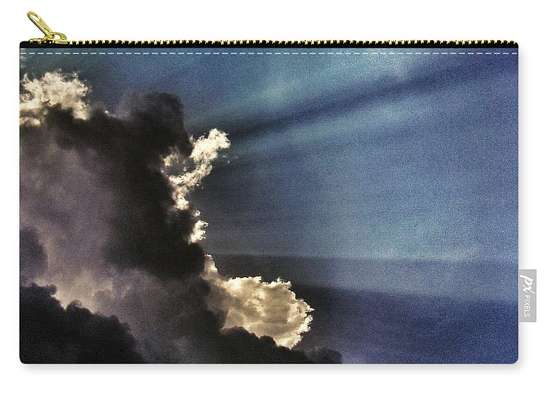 Omen Carry-all Pouch featuring the photograph Omen by Marianna Mills
