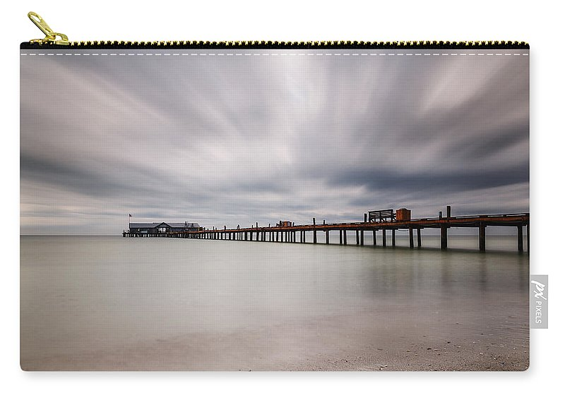 Usa Carry-all Pouch featuring the photograph On A Stormy Day by Claudia Domenig