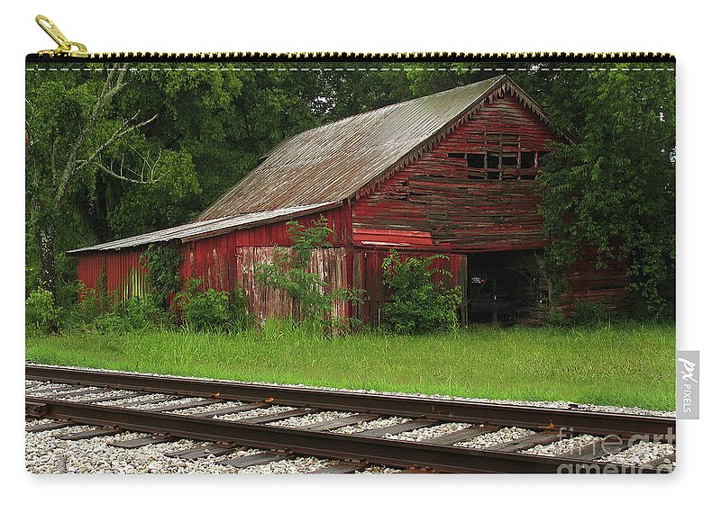Barns Carry-all Pouch featuring the photograph On A Tennessee Back Road by Douglas Stucky