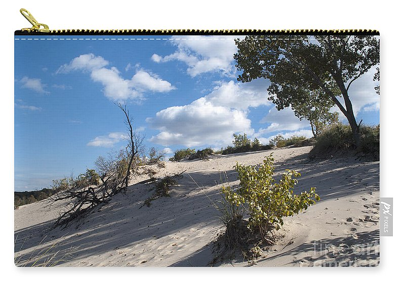 Dune Carry-all Pouch featuring the photograph On The Dune by Verana Stark
