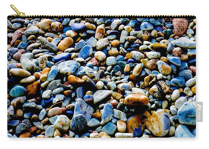 Mountains Carry-all Pouch featuring the photograph On The Rocks by Greg Fortier