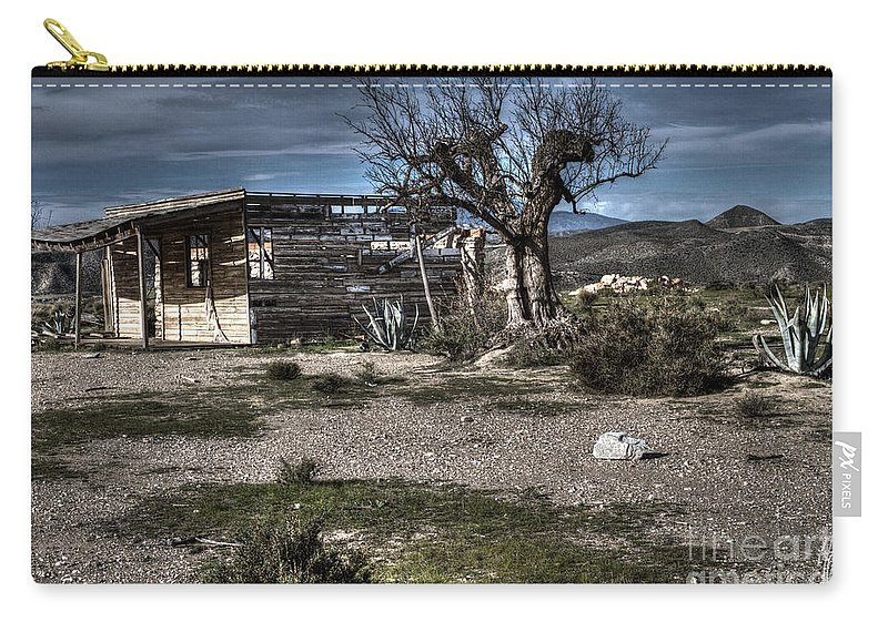 Ruin Carry-all Pouch featuring the photograph Once Upon A Time by Heiko Koehrer-Wagner