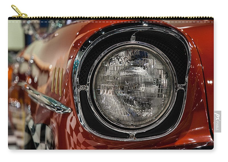One-eyed Chevy Carry-all Pouch featuring the photograph One-eyed Chevy by George Buxbaum