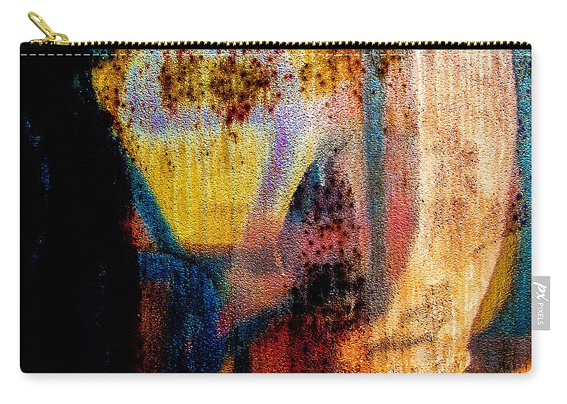 Abstract Carry-all Pouch featuring the photograph One Half by Bob Orsillo