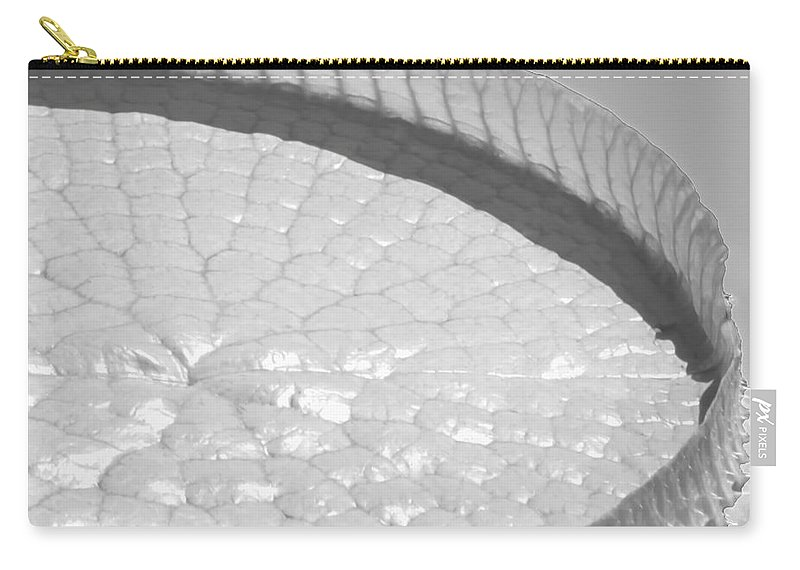 Landscape Carry-all Pouch featuring the photograph One Huge Lily Pad #3b by Sabrina L Ryan