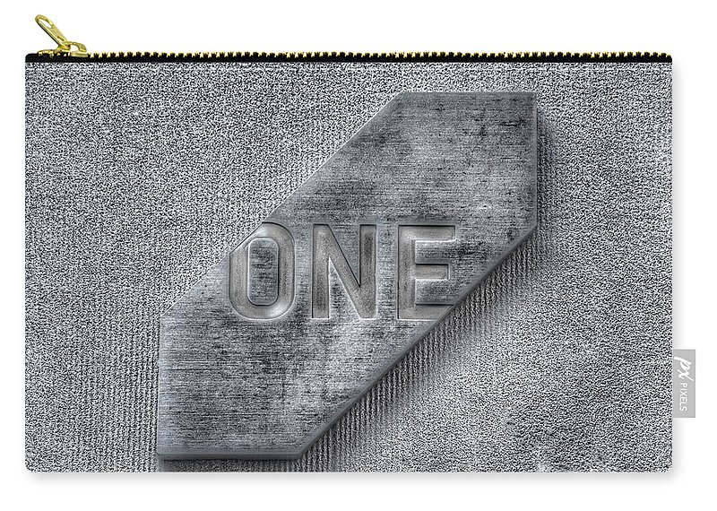 One Carry-all Pouch featuring the photograph One by Marianna Mills