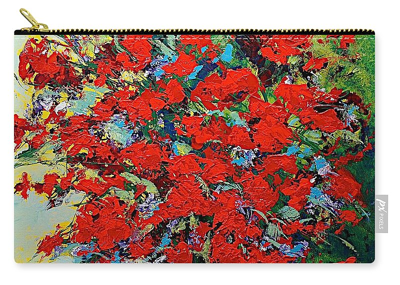 Landscape Carry-all Pouch featuring the painting One Of A Kind by Allan P Friedlander